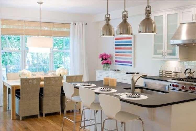 Open space 5 regole per arredare l 39 angolo cottura for Idee per dividere cucina e soggiorno
