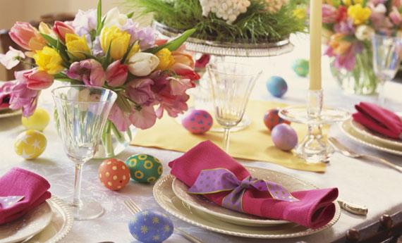 pasqua a tavola: idee per decorare - immobiliare conti - Arredare Casa Per Pasqua